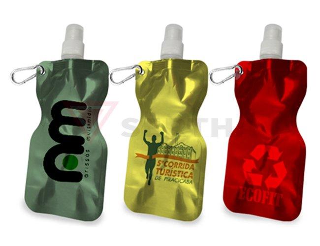 Squeeze Flexível 480ml PP Personalizado em Silk