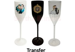 Taça Personalizada Champagne 200ml PS - Transfer