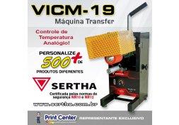 Máquina VICM-19 para Transfer