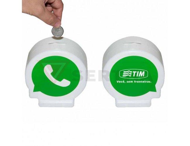 Cofrinho Personalizado Whatsapp